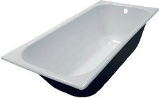 Вес чугунной ванны