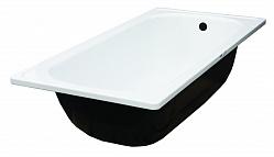 """Ванна стальная 1,7*0,7 м с полимерным покрытием """"Белая орхидея"""""""