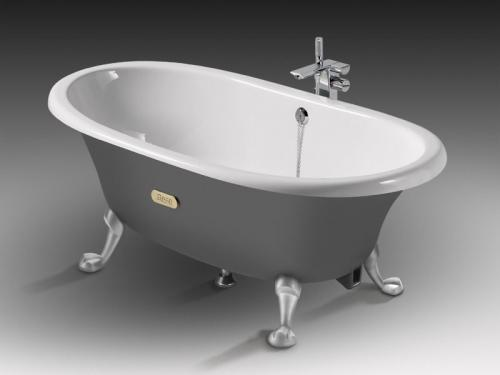 установка ванны чугунной в СПб