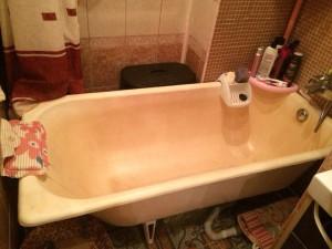 подготовка ванны к реставрации