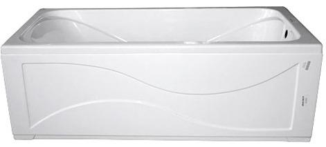стальная ванна с декор экраном